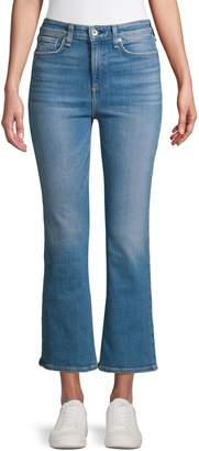 Rag & Bone High-Rise Ankle Flare Jeans