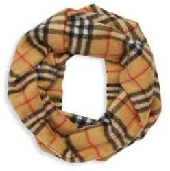 Burberry Girl's Patterned Cashmere Scarf