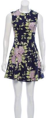 Rag & Bone Sleeveless Floral Print Dress