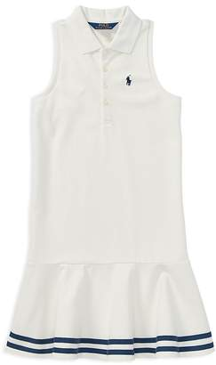 Polo Ralph Lauren Girls' Polo Shirt Dress - Big Kid