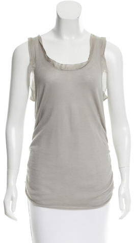 3.1 Phillip Lim 3.1 Phillip Lim Sleeveless Cashmere Top