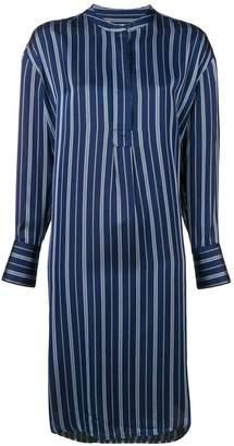 YMC striped shirt dress