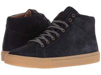 Eleventy High Top Suede Sneaker