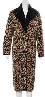 Fuzzi Knit Wool-Blend Coat