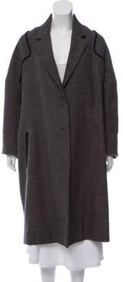 The Row Long Button-Up Coat w/ Tags