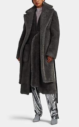 Helmut Lang Women's Faux-Fur Coat - Gray