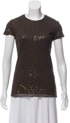 Ralph Lauren Embellished Short Sleeve Top
