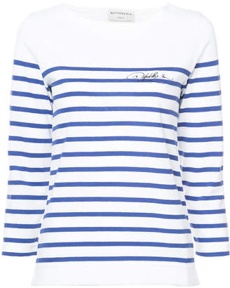 Éditions M.R Charlotte striped top