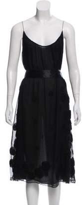 Alessandro Dell'Acqua Silk Midi Dress