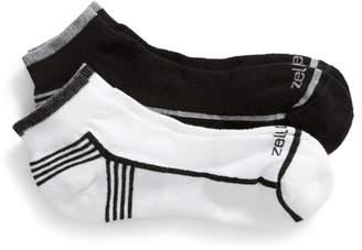 Zella 2-Pack Low-Cut Fitness Socks