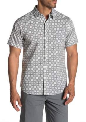 Union Yolo Medallion Print Short Sleeve Shirt