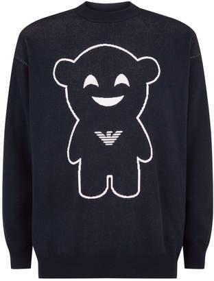 Emporio Armani Manga Bear Sweater