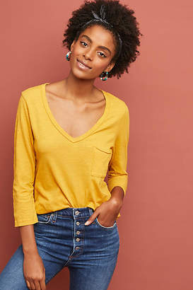 T.La Casual V-Neck Top