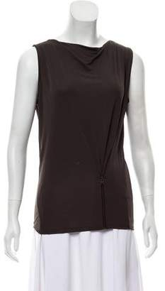 AllSaints Sleeveless Cowl Neck Top