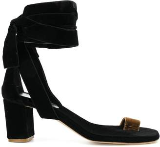 Couture Gia wrap-around ankle sandals