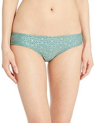 Hot Water Junior's Wide Cheeky Hipster Bikini Bottom Swimsuit,Extra