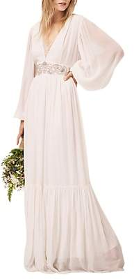 French Connection Cari Maxi Bridal Dress, Summer White