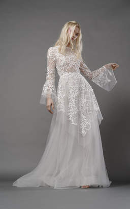 Ophelia Elizabeth Fillmore Fairy Gown With Tulle Overlay