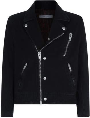 Givenchy Denim Biker Jacket