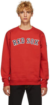 Marcelo Burlon County of Milan Red Sox Edition レッド スウェットシャツ