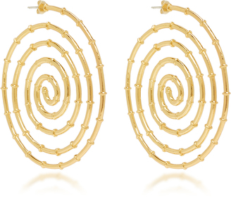 Arme de l'Amour Swirl Bamboo Earrings