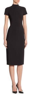 Ralph Lauren Collection Jeanette Wool Dress $1,290 thestylecure.com