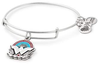 Alex and Ani Strength Grace Love Wonder Woman Wire Adjustable Bracelet