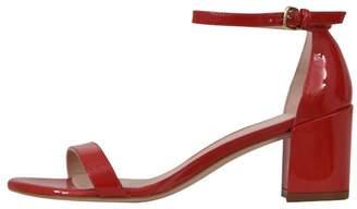 Stuart Weitzman 5,5 Cm Red Nudist Sandals