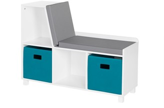 Riverridge Home RiverRidge Home Book Nook Kids' Storage Bench with Cubbies and 2-Piece Bins