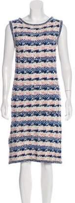Chanel Paris-Dubai Knit Dress