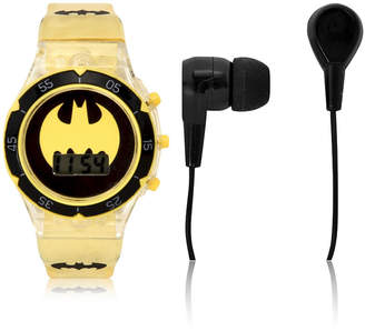 Batman Holiday 2018 Unisex Yellow Strap Watch-Bat40038jc