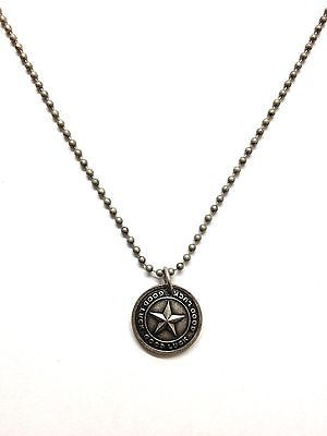 Marc Jacobs Good Luck Star Coin Necklace