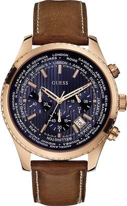 Guess W500g1 men's Pursuit watch $188 thestylecure.com