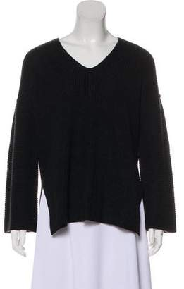 Velvet Knit Wool Sweater