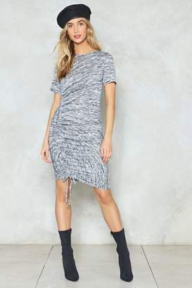 Nasty Gal It's Do or Dye Ruched Dress