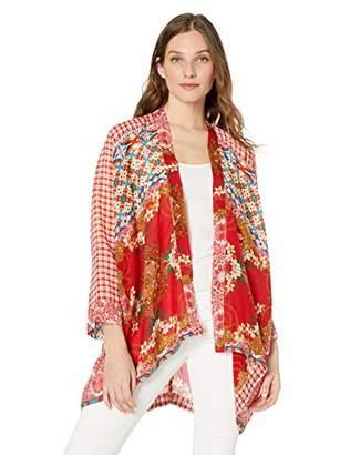 Johnny Was Women's Patterned Rayon Kimono
