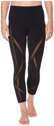 Alo High-Waist Laced Capris Women's Casual Pants