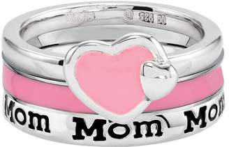 Simply Stacks Sterling Mom Ring Set