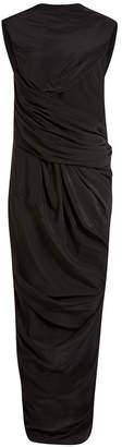 Rick Owens Draped Silk Dress