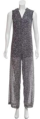 MICHAEL Michael Kors Printed Sleeveless Jumpsuit