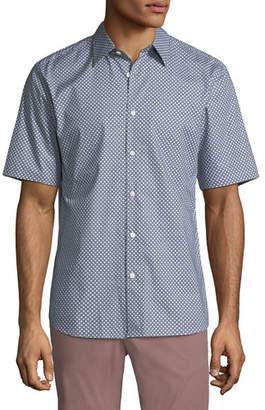 Theory Men's Halldale Menlo Short-Sleeve Sport Shirt