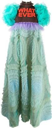 Viktor & Rolf Whatever ruffled tulle gown