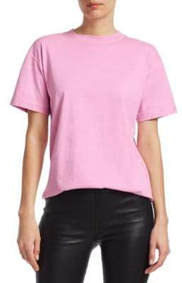 Helmut Lang Distressed Cotton Tee