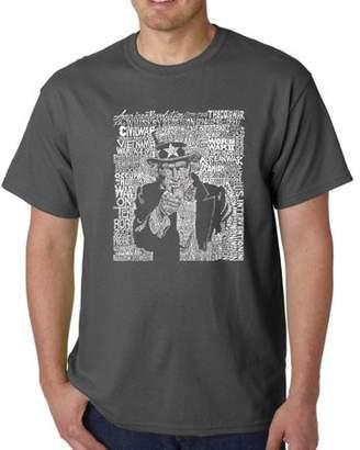SAM. Pop Culture Los Angeles Pop Art Men's T-Shirt - Uncle