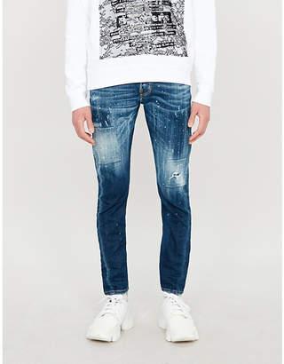Sexy Twist slim-fit stretch-denim skinny jeans