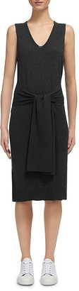 Whistles Tie Front Knit Dress $230 thestylecure.com