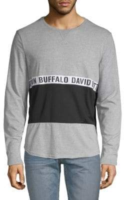 Buffalo David Bitton Nirvi Colorblock Logo Tee