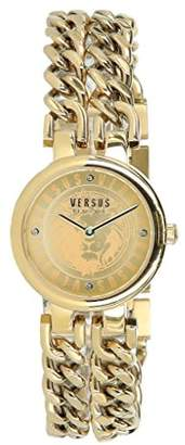 Versus By Versace Women's 'Berlin' Quartz Tone and Gold Plated Fashion Watch(Model: VSPGR1518)