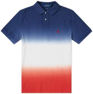 Polo Ralph Lauren Dip Dye Polo