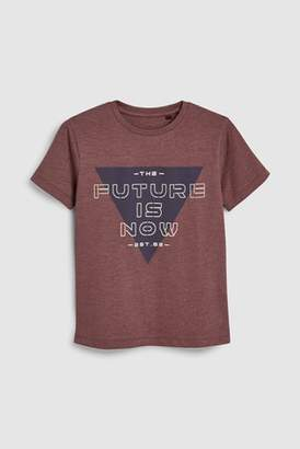 Next Boys Berry Future Is Now T-Shirt (3-16yrs)